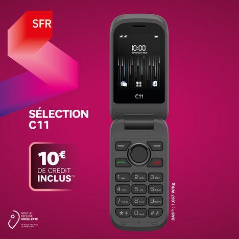 SFR Carte SIM prépayée 3 en 1 - SFR - Sélection C11