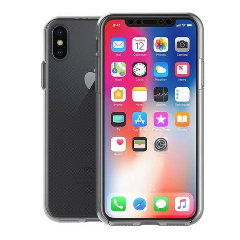 Coque Integrale Bimat 360 Pour Iphone X Transparent Pas Cher A