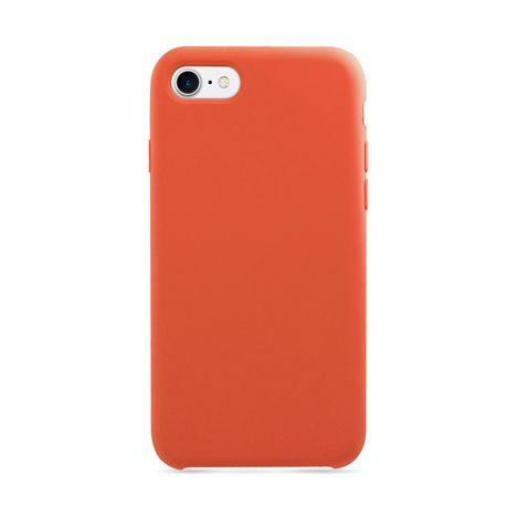 MOXIE Coque BeFluo pour Iphone 7/8 - Orange - Polycarbonate et silicone