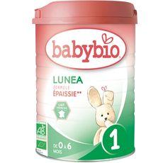 Babybio lait 1er âge lunea confort 900g de 0 à 6 mois