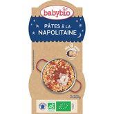 Babybio bol bonne nuit pâtes napolitaine 2x200g dès 8 mois