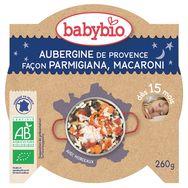 Babybio assiette aubergine de provence pâte  260g dès15mois