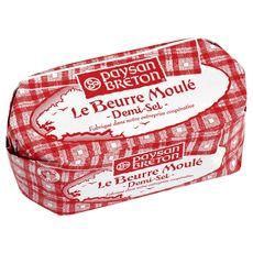 Paysan Breton beurre moulé demi-sel 500g