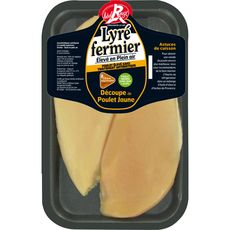 Lyré filet de poulet jaune label rouge x2 -280g
