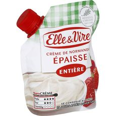 Elle & Vire crème épaisse entière 30%mg 33cl