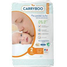 Carryboo couches dermo sensitives 3/6kg x56 taille 2