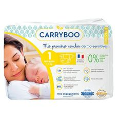 Carryboo couches dermo sensitives 2-5kg x27 taille1