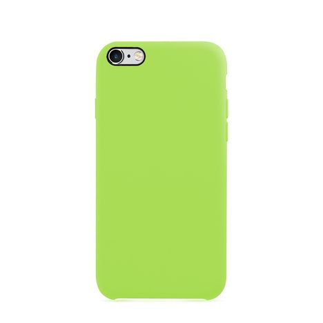 MOXIE Coque BeFluo pour Iphone 6 - Vert pomme - Polycarbonate et silicone