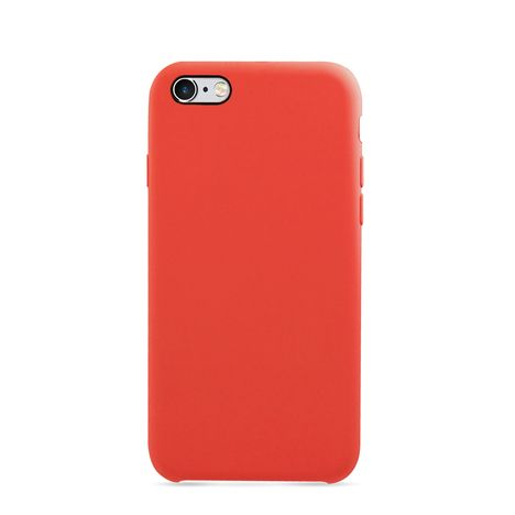 MOXIE Coque BeFluo pour Iphone 6 - Rouge - Polycarbonate et silicone