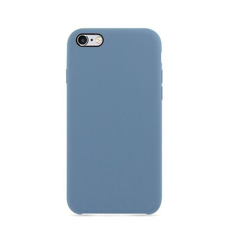 MOXIE Coque BeFluo pour Iphone 6 - Bleu acier - Polycarbonate et silicone
