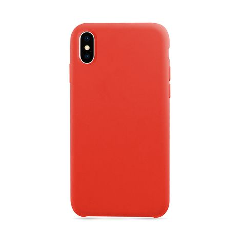 MOXIE Coque BeFluo pour Iphone X - Rouge - Polycarbonate et silicone