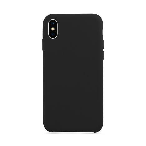 MOXIE Coque BeFluo pour Iphone X - Noir - Polycarbonate et silicone