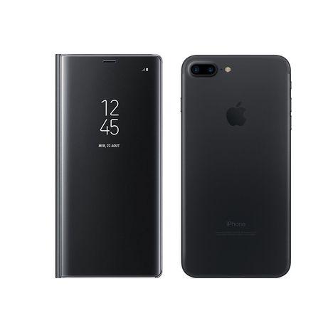 MOXIE Etui folio Clear View pour Iphone 7+/8+ - Transparent