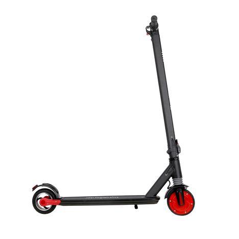 GYROBOARDER Trottinette électrique Pliable i11 Noir et rouge