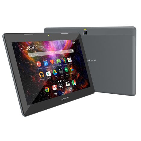 POLAROID Tablette tactile Cosmic - Gris anthracite