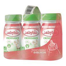 Babybio lait de croissance bio de 10 mois à 3 ans 6x25cl