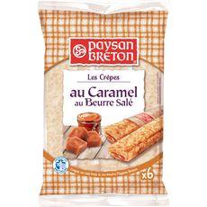 Paysan Breton crêpe fourrée caramel beurre salé x6 -180g