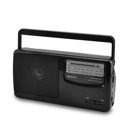 SELECLINE Radio analogique - Noir  - MA-0606R