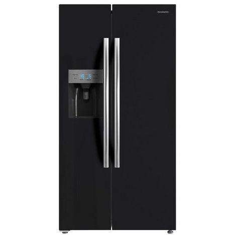 DAEWOO Réfrigérateur américain FRN-M570D2B, 504 L, Froid ventilé No Frost