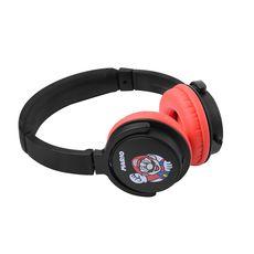 QILIVE Casque audio filaire - Q1322 - Noir et rouge