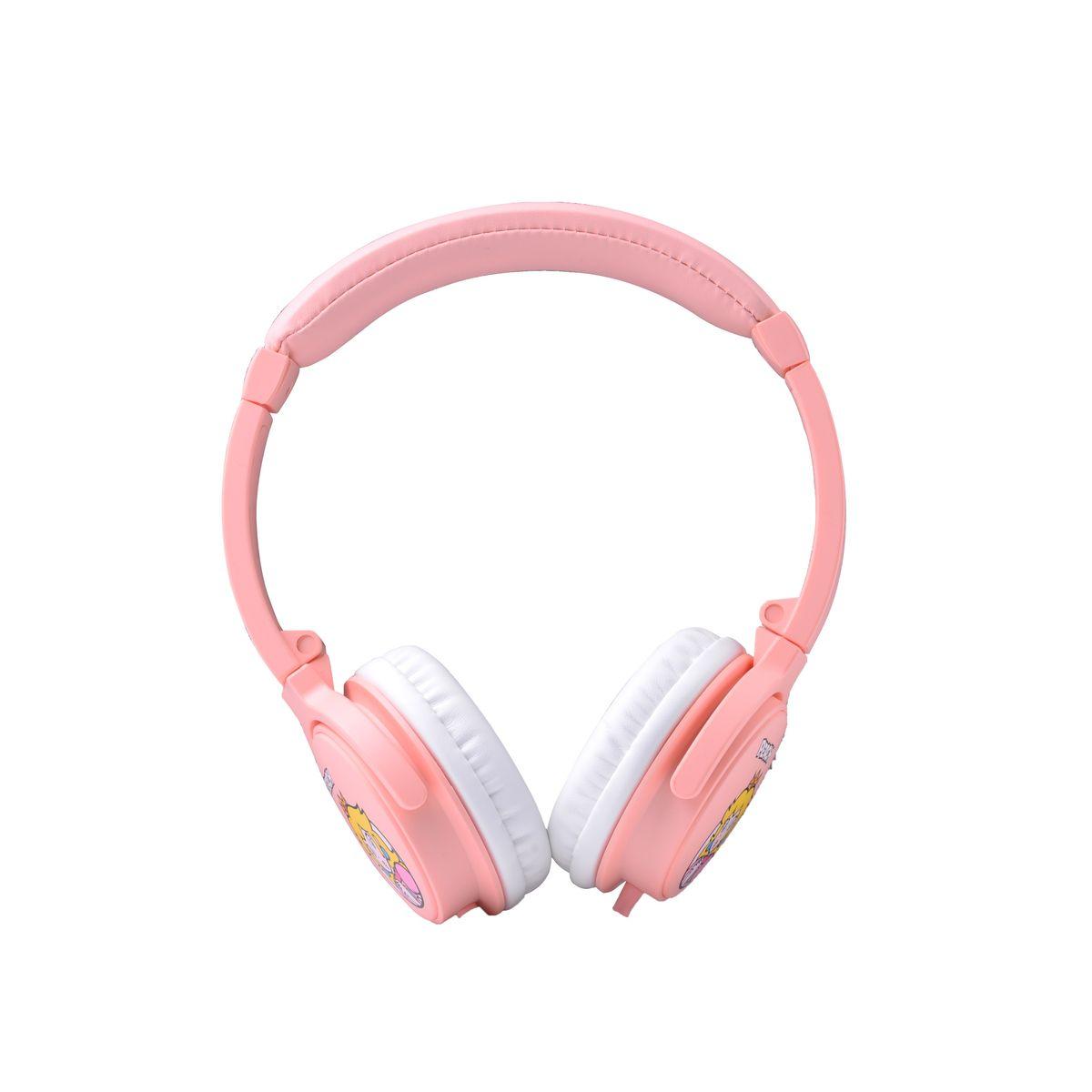 Casque audio filaire Q1322 - Rose