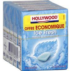 Hollywood ice fresh chewing-gum x5 -70g