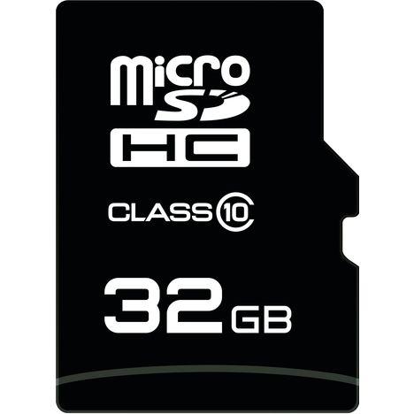 QILIVE Carte Micro SDHC - 32 Go - Classe 10 + Adaptateur SD + Lecteur de carte USB 2.0