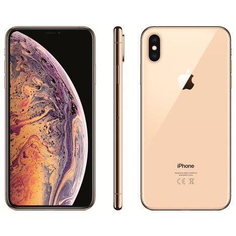 Smartphone - iPhone XS Max - 64 Go - 6.5 pouces - Or APPLE pas cher ... 711c1eebffd0