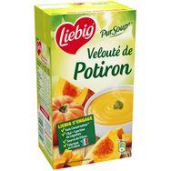 Liebig pursoup' velouté de potiron et pointe de crème 1l