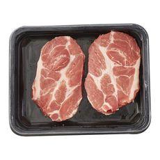 Côte de porc à l'échine sans os label rouge 2 pièces 300g
