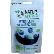 Natur Attitud Myrtilles séchées bio 100g