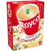 Royco Minute Soup crèmeuse crème de champignons 4x20cl