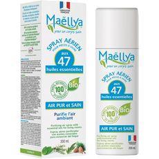Maellya spray air pur aux 47 huiles essentielles 200ml