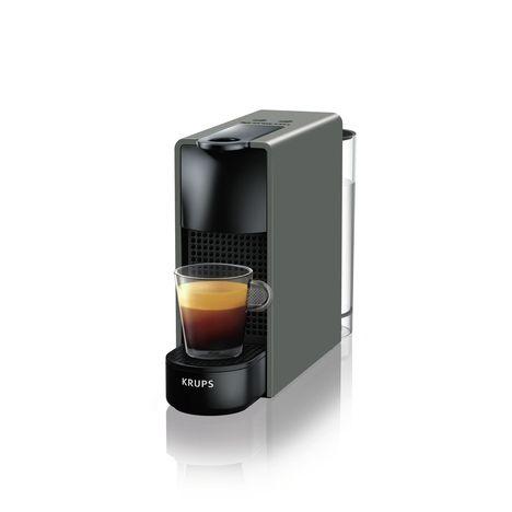 KRUPS Cafetière à dosettes Nespresso Essenza Mini XN110B, Gris
