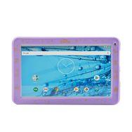 QILIVE Tablette tactile 899826 Blanc + Housse Raiponce Violet