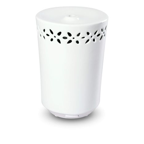NAEO Diffuseur d'huiles essentielles à ultrasons LIBERTY, Blanc