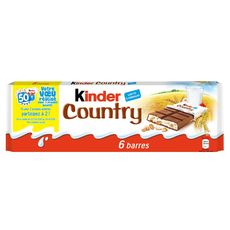 KINDER Ferrero kinder country t6 141g