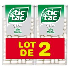 Tic Tac menthe 2x110 -110g