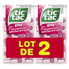 Tic Tac duo  fraise 2x110 -110g