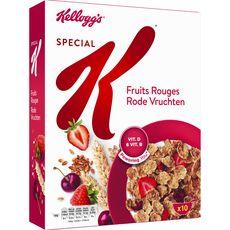 Special K Céréales fruits rouges 300g