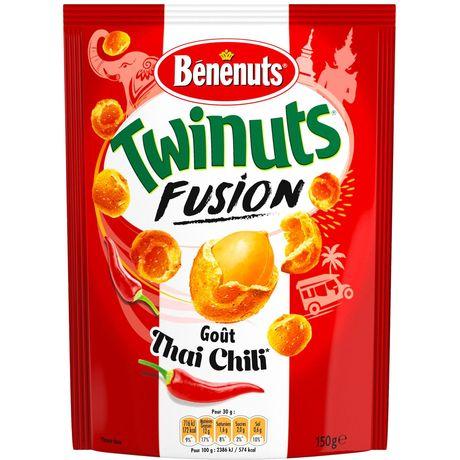 Cacahuètes goût Thai Chili Twinuts Fusion BENENUTS st 150g