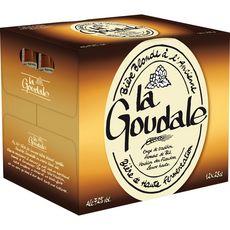 GOUDALE La goudale Bière blonde à l'ancienne 7,2% bouteilles 12x25cl 12x25cl
