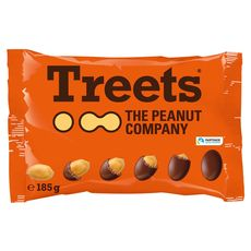 TREETS Bonbons chocolatés à la cacahuète 185g