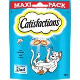 Catisfactions saumon friandises pour chat et chaton 180g