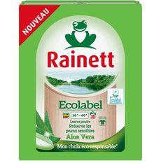 RAINETT Rainett Lessive poudre écologique aloé vera 35 lavages 2,345kg 35 lavages 2,345kg