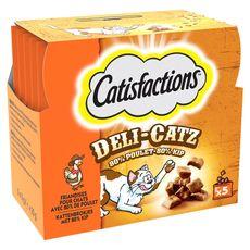 CATISFACTIONS Catisfactions deli catz poulet 25g