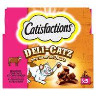 Catisfactions Friandises deli-catz au boeuf pour chat 25g