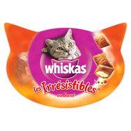 WHISKAS Les irrésistibles barquette friandises au boeuf pour chat