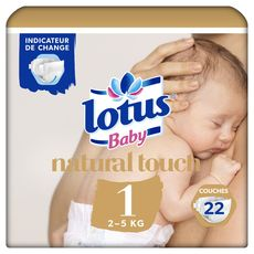 Lotus baby touch change 2/5kg x22 taille 1