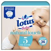 Lotus baby touch change 12/22kg x36 taille 5